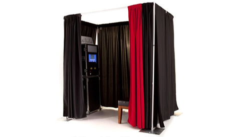 Curtains Photobooth Enclosure