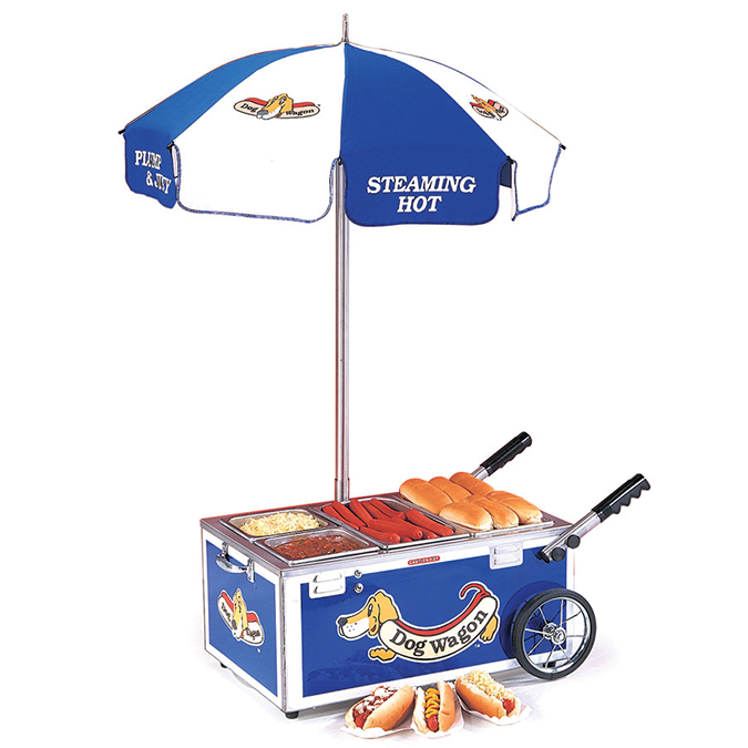 Table Top Hot Dog Cart