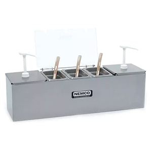 Condiment Self-Serve Stand