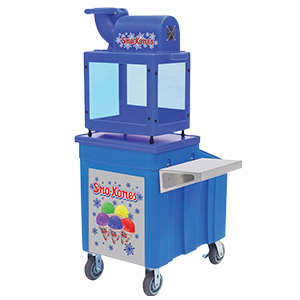 Sno Kone Machine with Cart