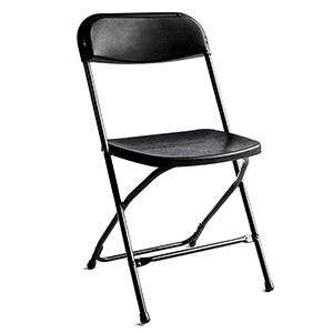 Titan Plastic Chair (Black)
