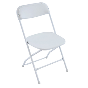 Titan Plastic Chair (White)